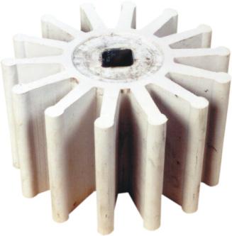 Rotor 14 alhetas